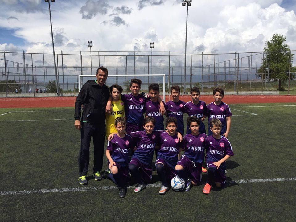 Küçük Erkekler Futbol Takımımız Galibiyet Kazandı