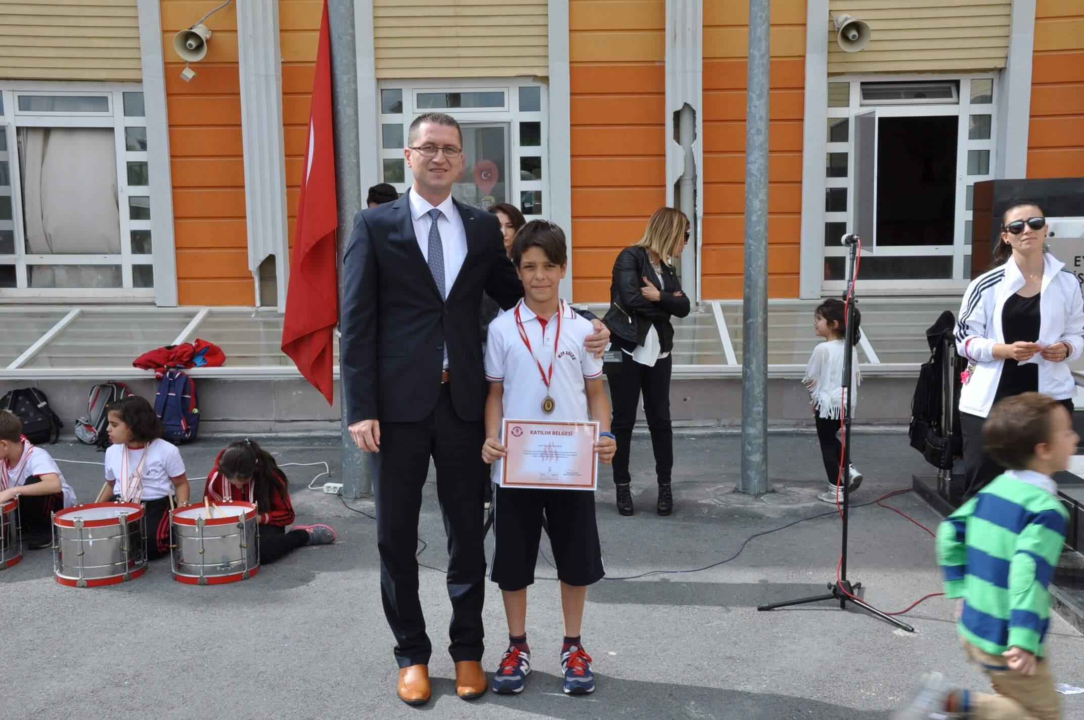 """Yetkin Gence, """"19 Mayıs Su Sporları"""" Yarışında 5. Oldu"""