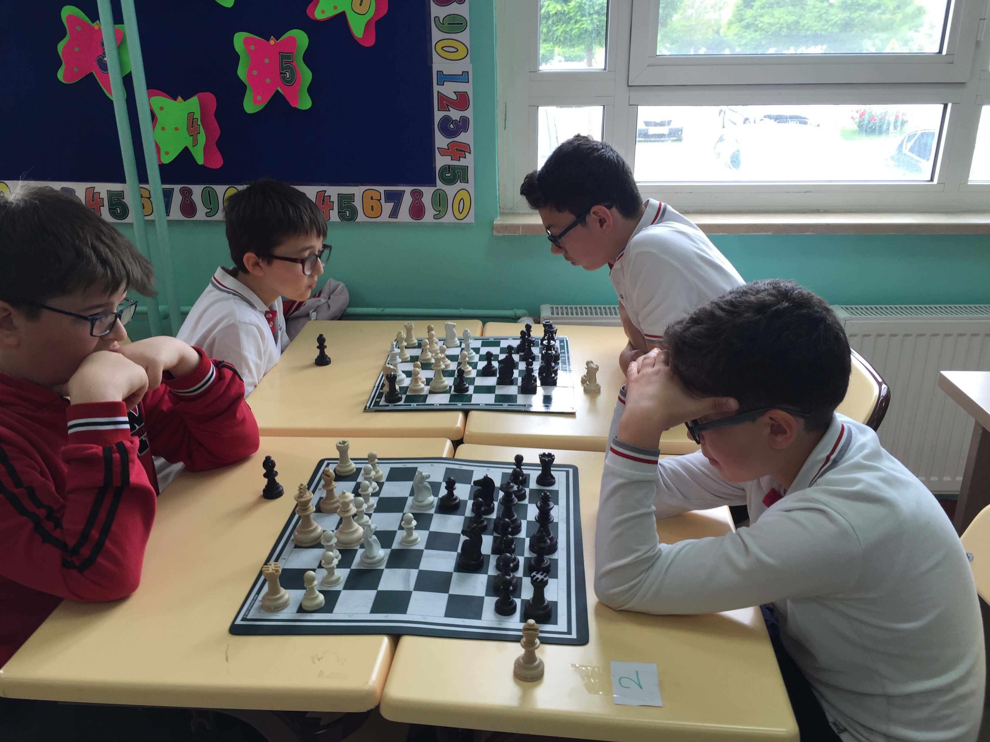 """Ortaokul Öğrencilerimize Yönelik """"Gençlik Haftası Satranç Turnuvası"""" Düzenlendi"""