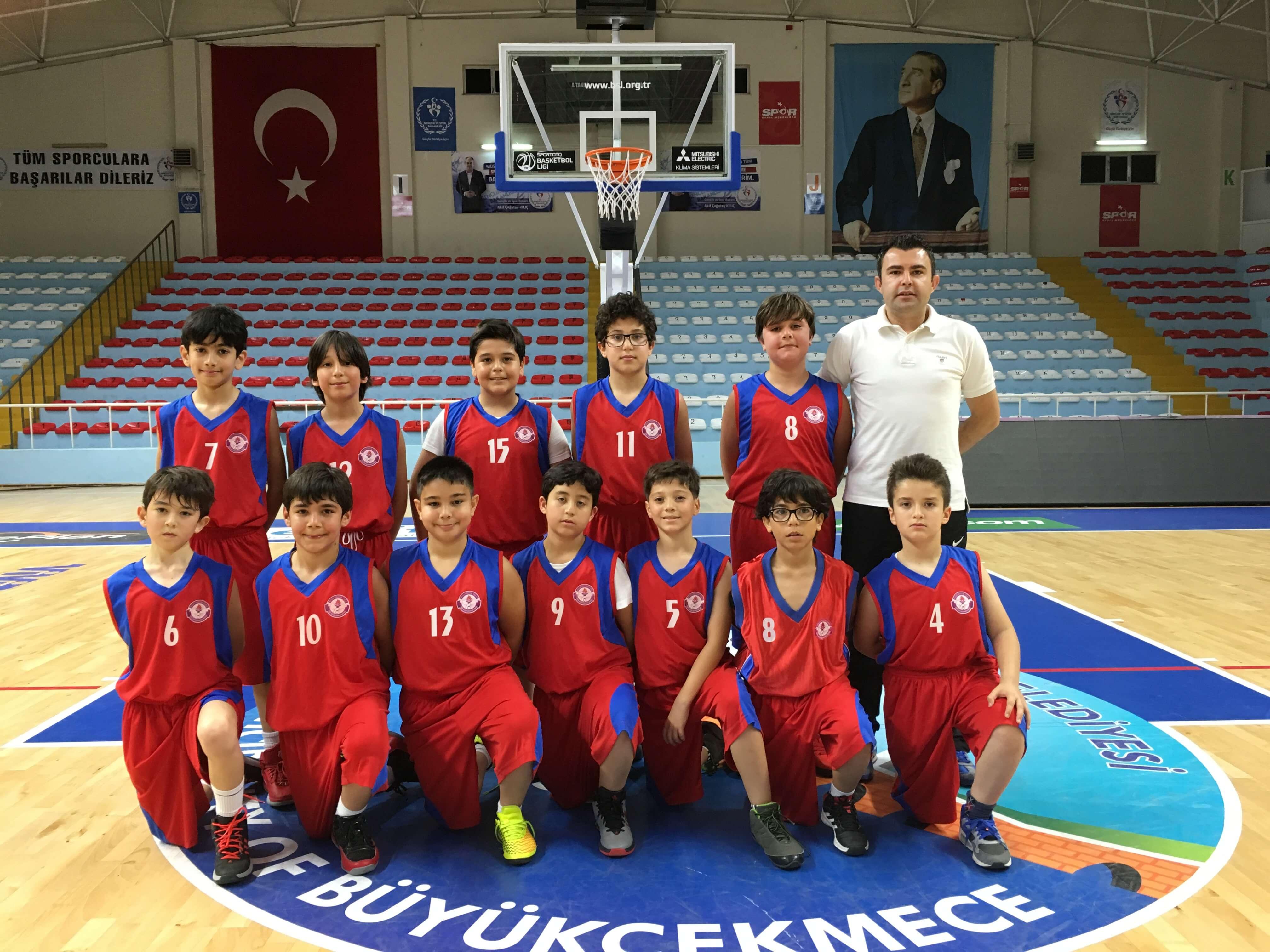 Minik Basketbolcularımız, Rakibini Büyük Farkla Mağlup Etti