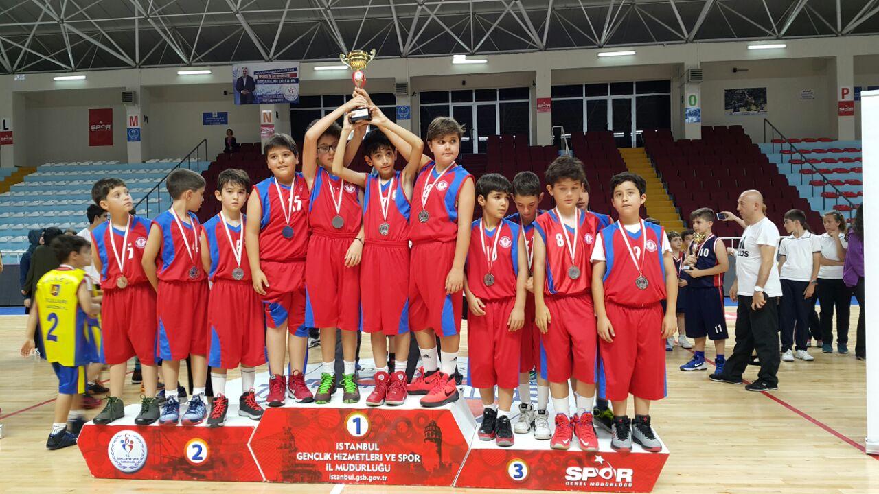Minik Basketbolcularımızdan, Büyük Başarı