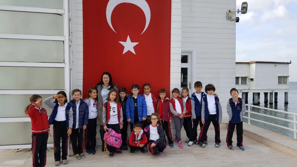 3. Sınıf Öğrencilerimize Yönelik Florya Atatürk Köşkü'ne Gezi Düzenlendi