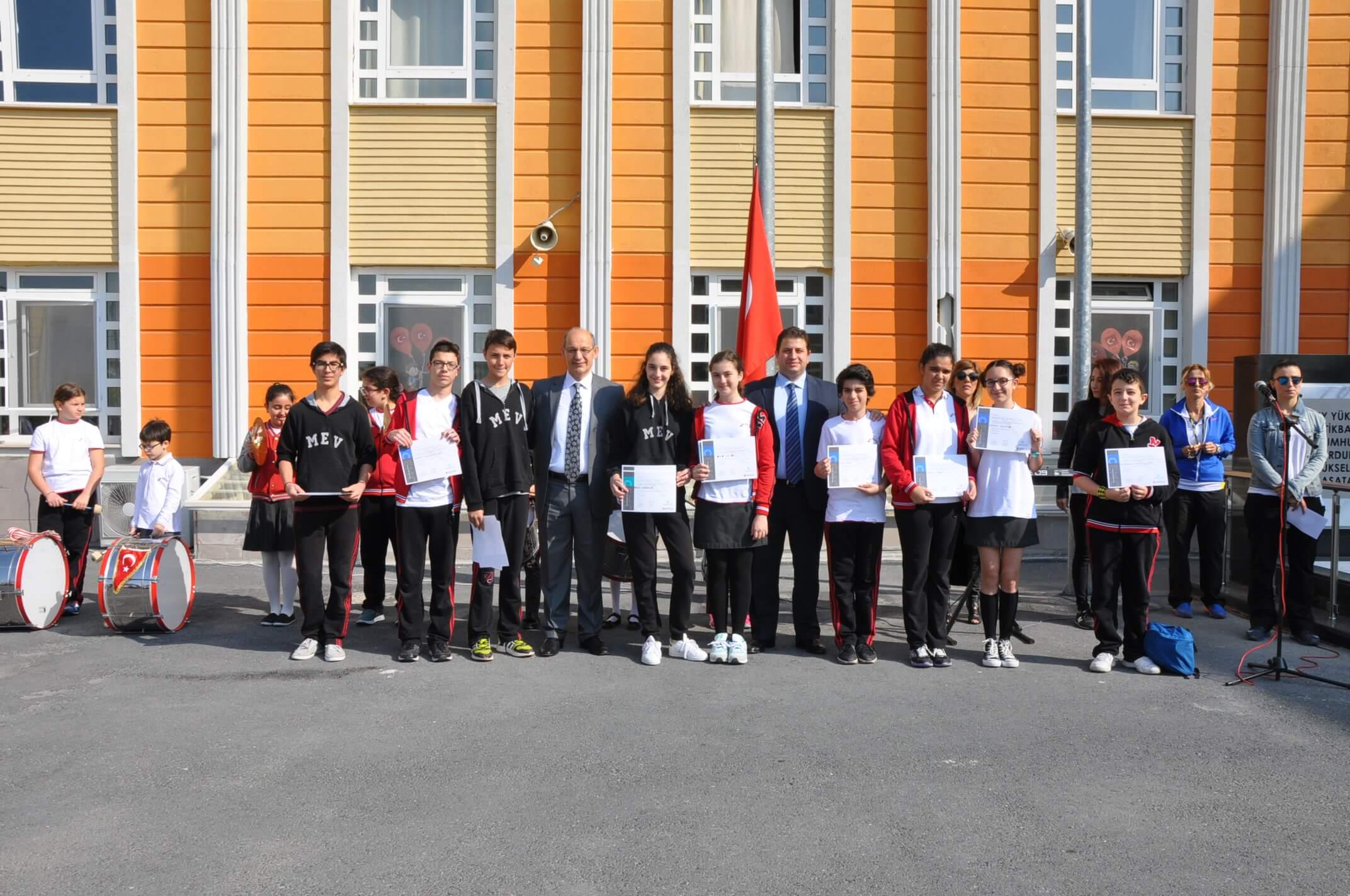 7. ve 8. Sınıf Öğrencilerimiz Uluslararası GAUSS Matematik Sınavına Katıldılar
