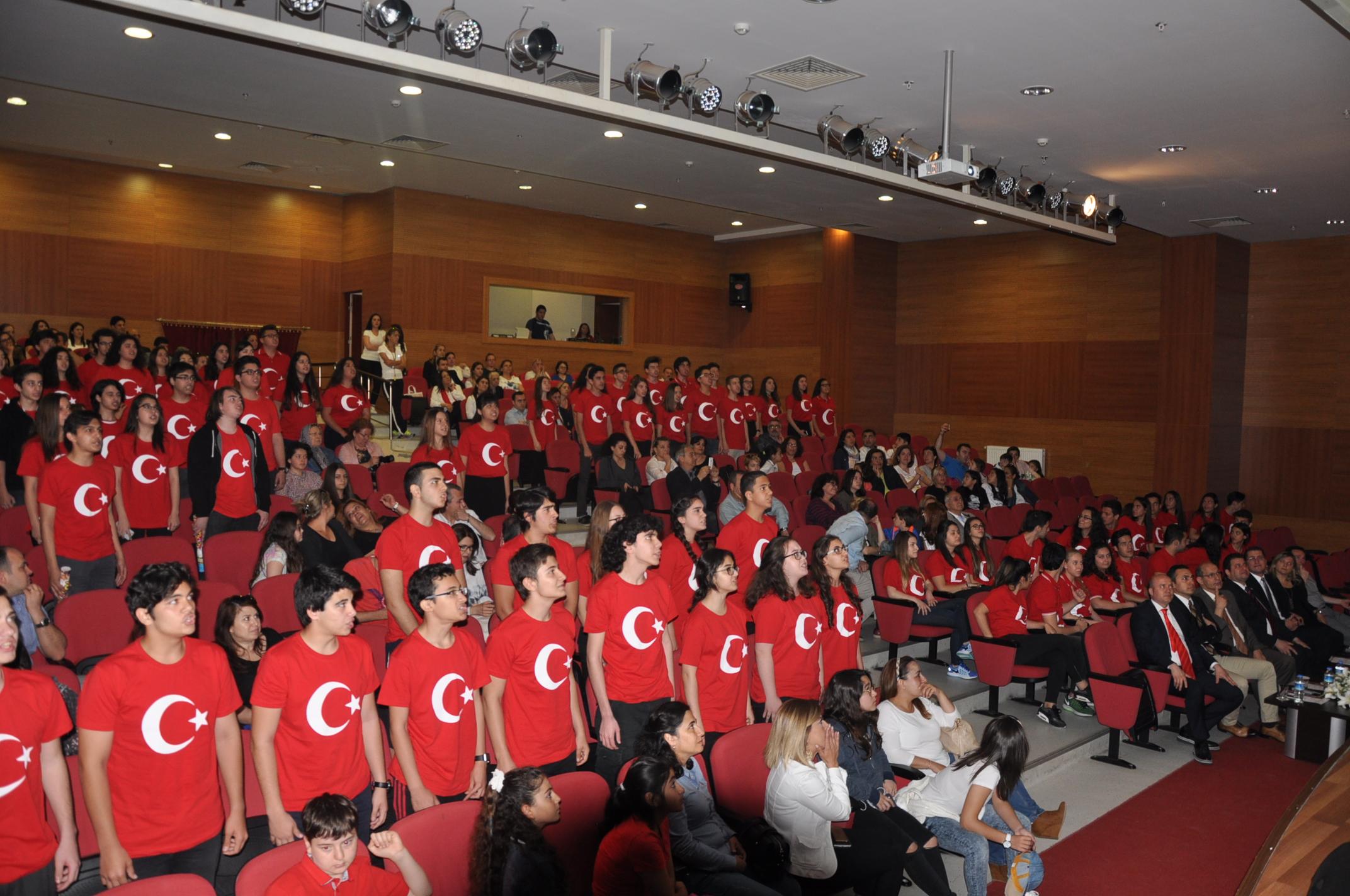 19 Mayıs Atatürk'ü Anma, Gençlik ve Spor Bayramını Coşkuyla Kutladık