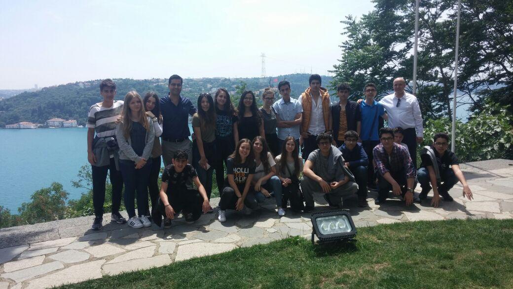 9.Sınıflarımız Aşiyan Müzesi Gezisinde