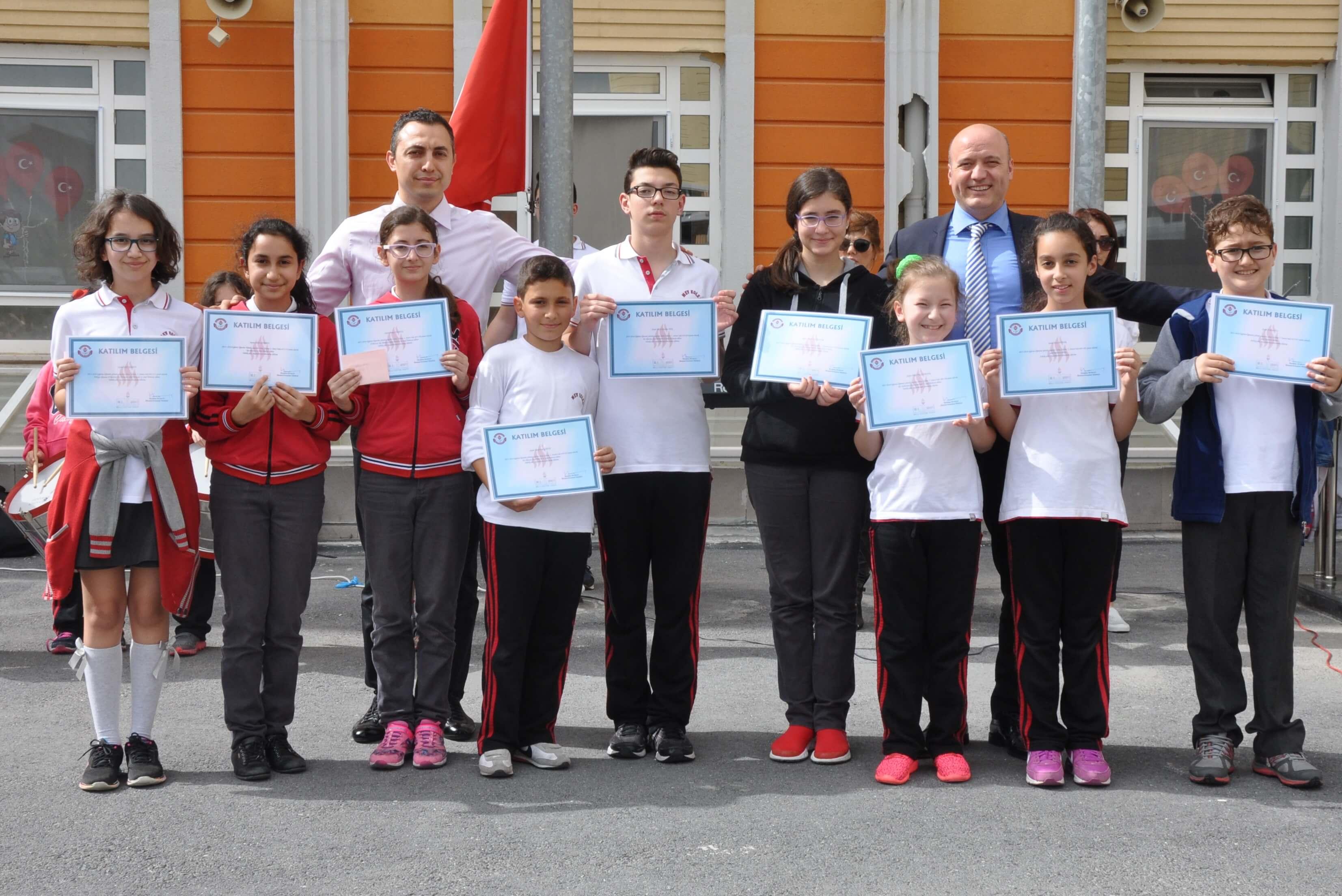 Süreç İzleme Sınavı'nda Türkiye Dereceleri ve İl-İlçe Dereceleri Yine MEV Koleji'nden