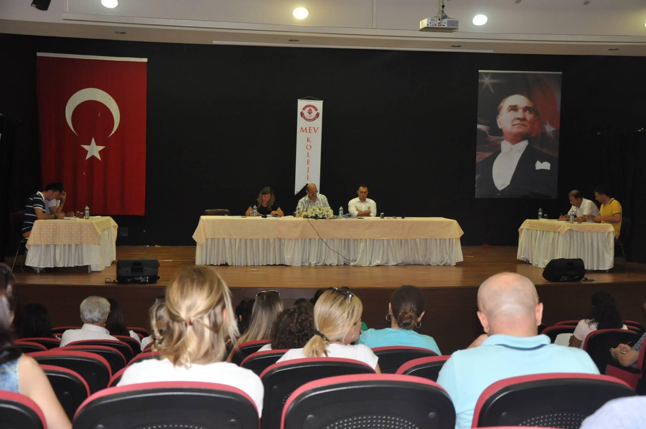 İlkokul-Ortaokul Yıl Sonu Öğretmenler Genel Kurul Toplantısı Gerçekleşti