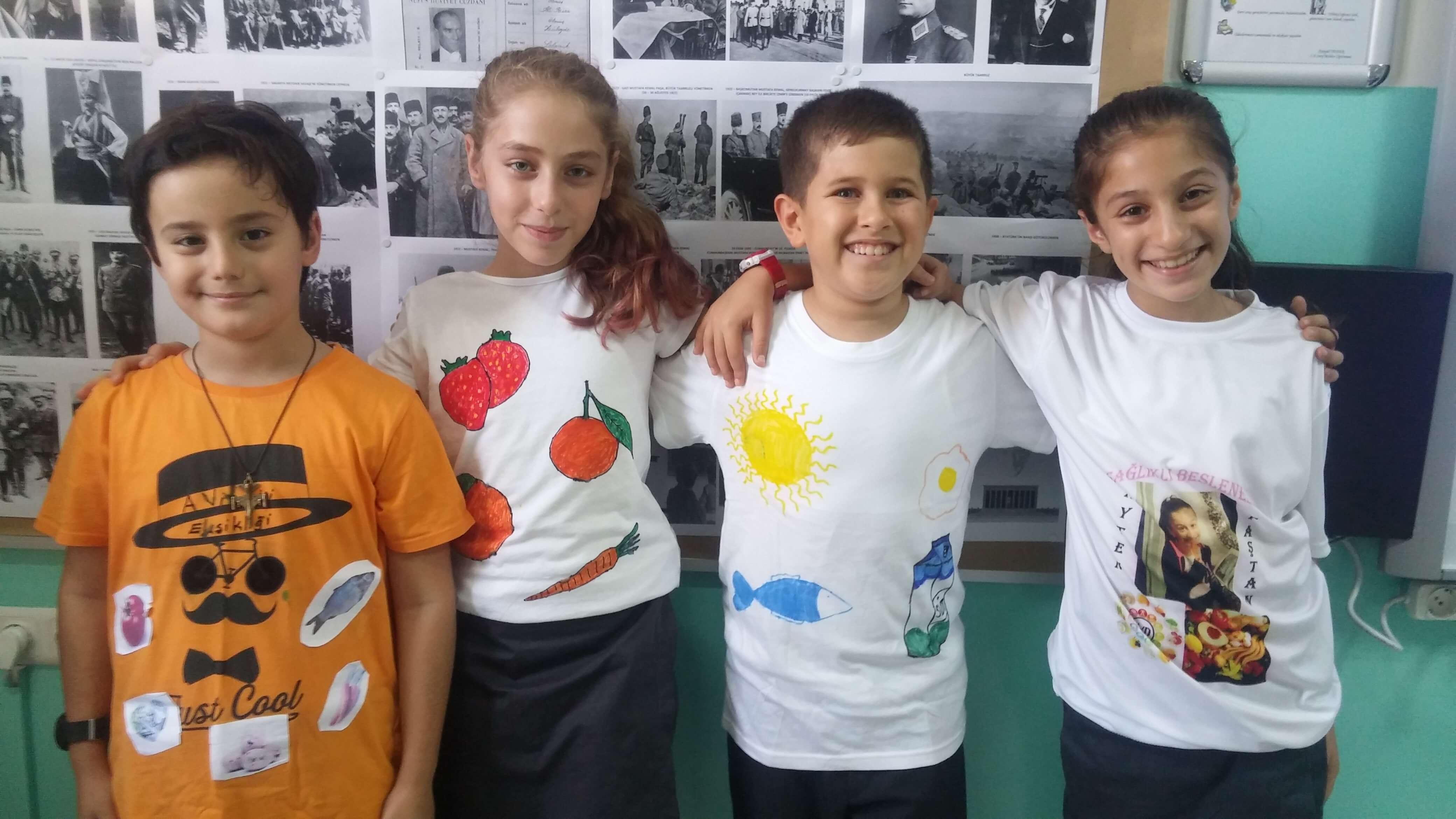 """5. Sınıf Öğrencilerimiz """"Sağlıklı Beslenelim"""" Etkinliğini Gerçekleştirdiler"""