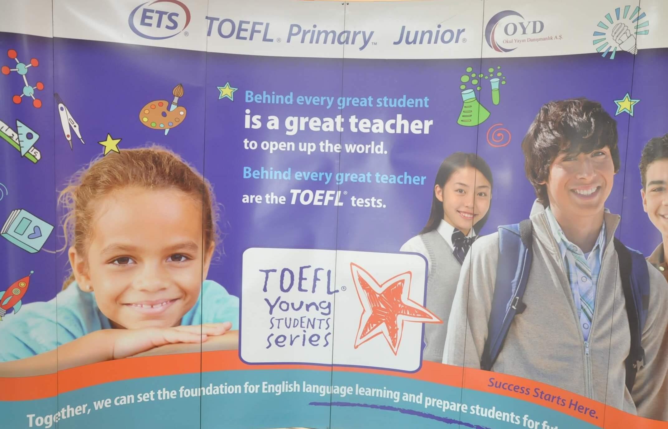 TOEFL Primary, TOEFL Junior ve TOEFL Itp Sınavlarının İlk Oturumu Gerçekleşti