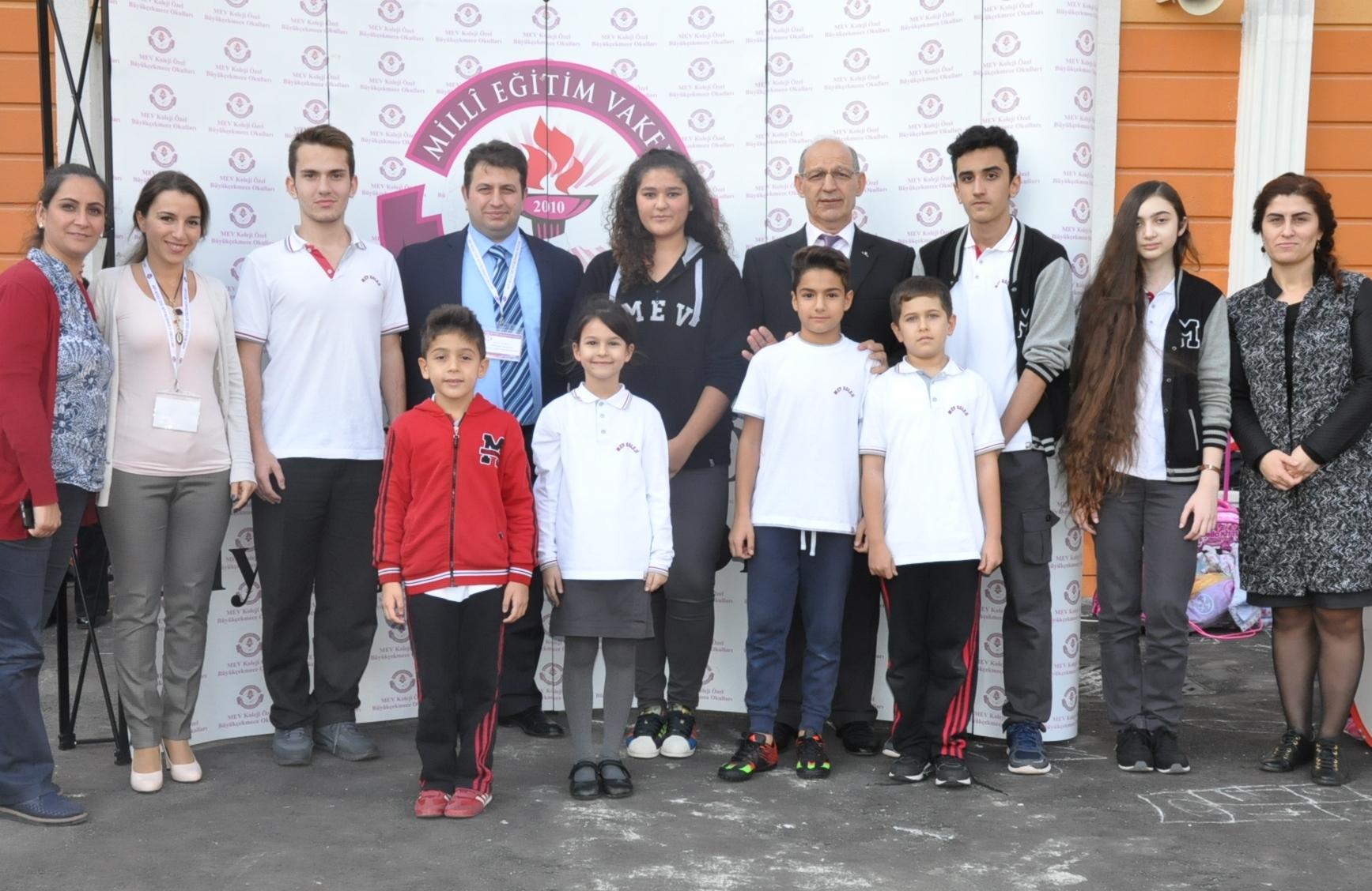 MEV Koleji Öğrencileri, Okul Öğrenci Meclis Başkanını ve Başkan Yardımcısını Seçti