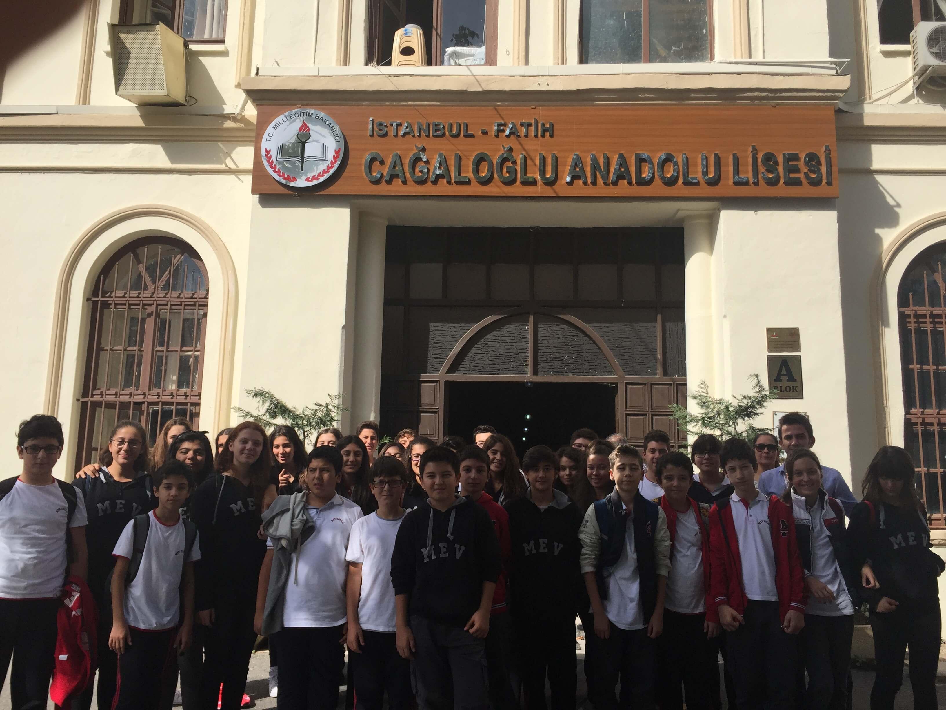 8. Sınıf Öğrencilerimize Yönelik Cağaloğlu Anadolu Lisesine Gezi Düzenlendi
