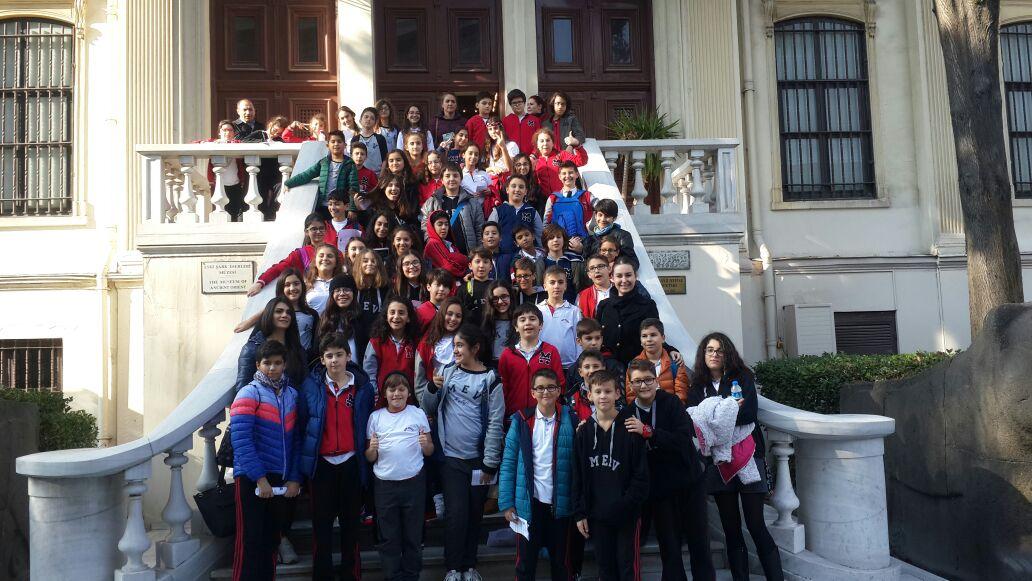6. Sınıf Öğrencilerimize Yönelik Arkeoloji Müzesine Gezi Düzenlendi