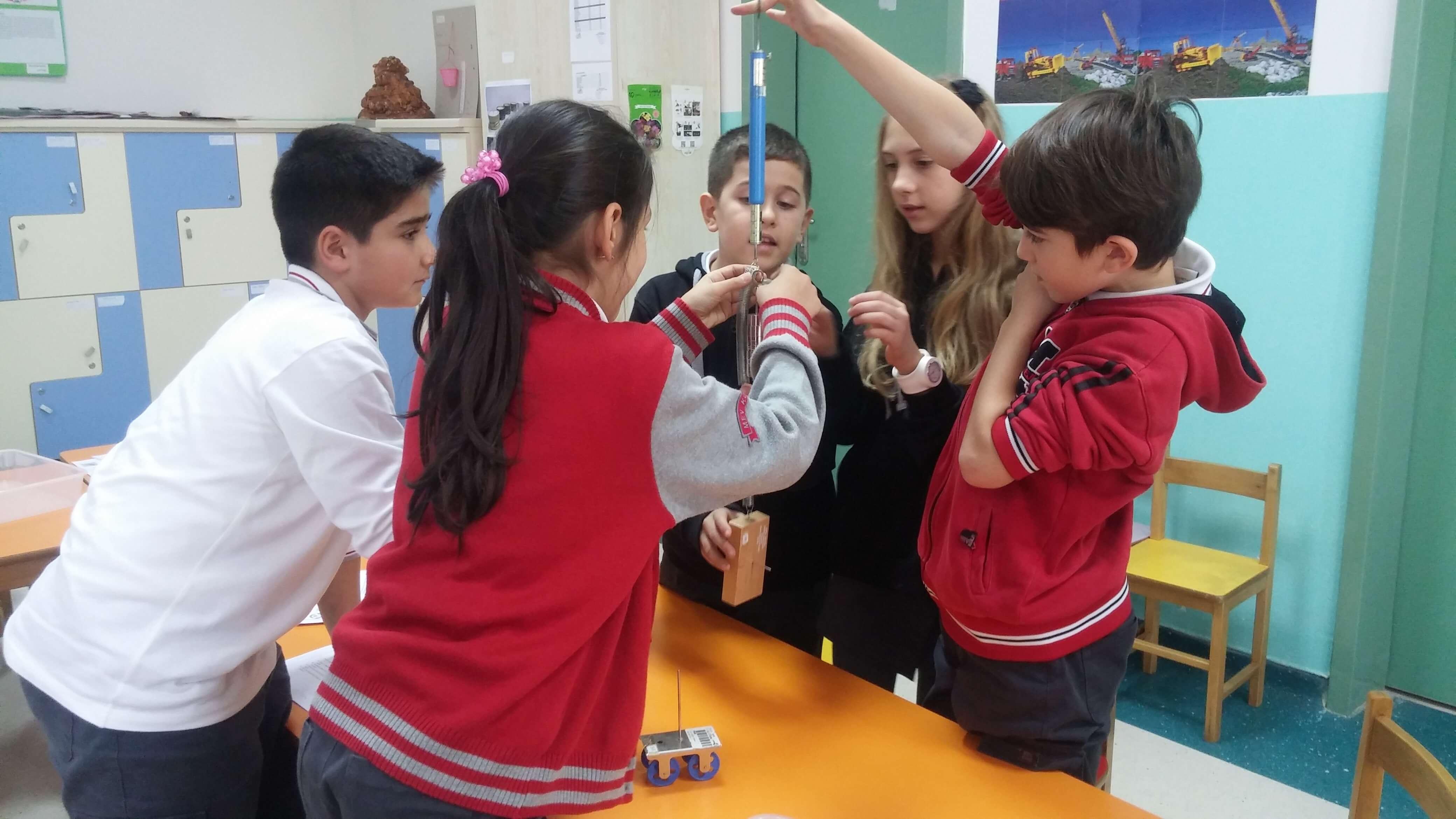 5. Sınıf Öğrencilerimiz Kuvvet ve Etkilerini Gözlemlediler