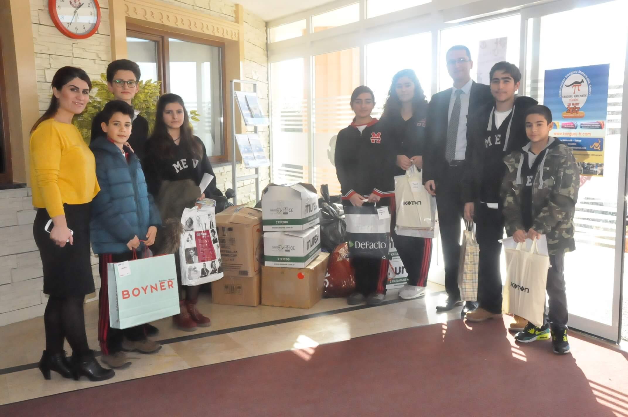 """Engelliler Haftasında ''Sevgini Paylaş Bir İnsanı Mutlu Et"""" Temalı Sosyal Sorumluluk Projesi Gerçekleştirildi"""
