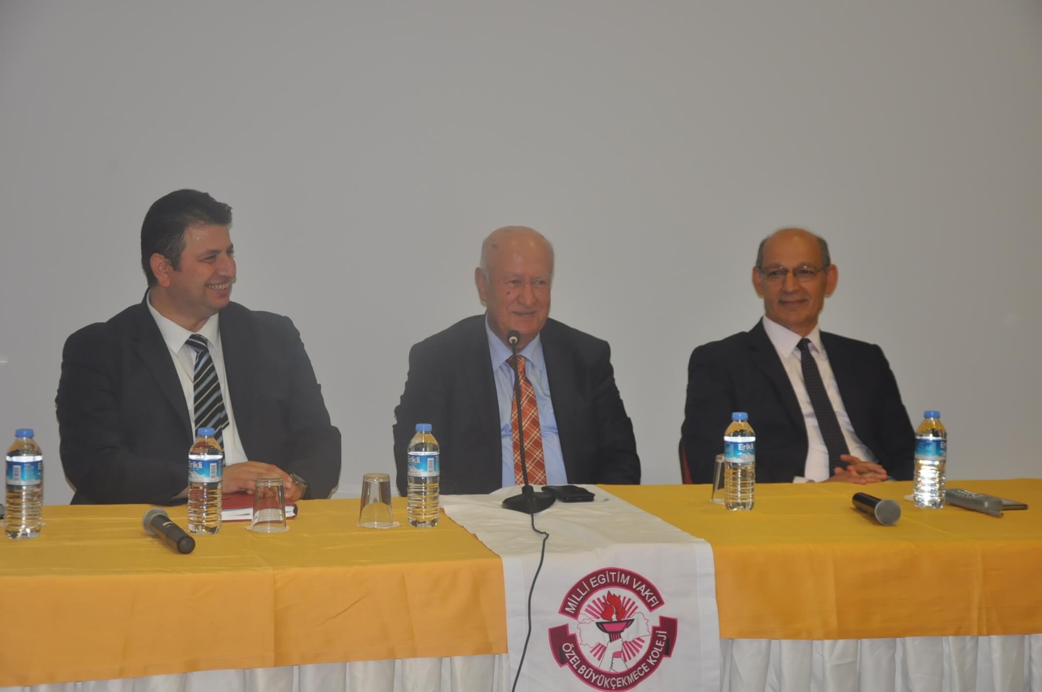 MEV Yönetim Kurulu Başkan Yardımcımız Okulumuzu Ziyaret Etti
