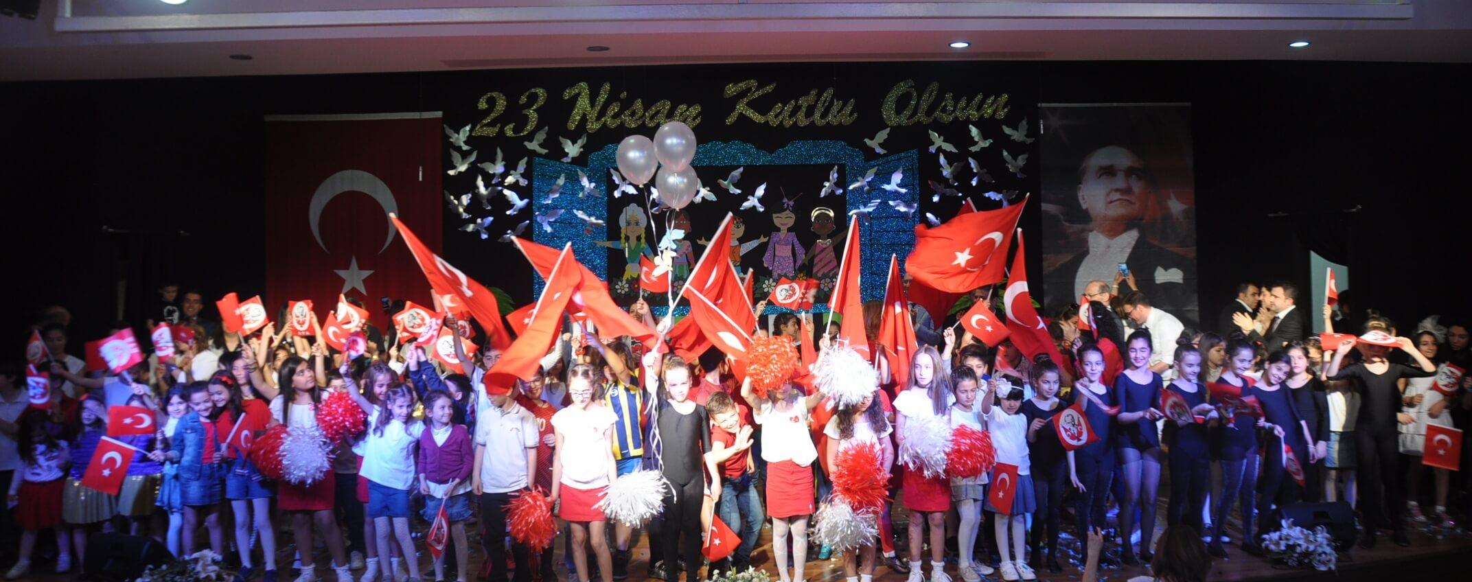 23 Nisan Ulusal Egemenlik ve Çocuk Bayramını Büyük Bir Coşkuyla Kutladık!