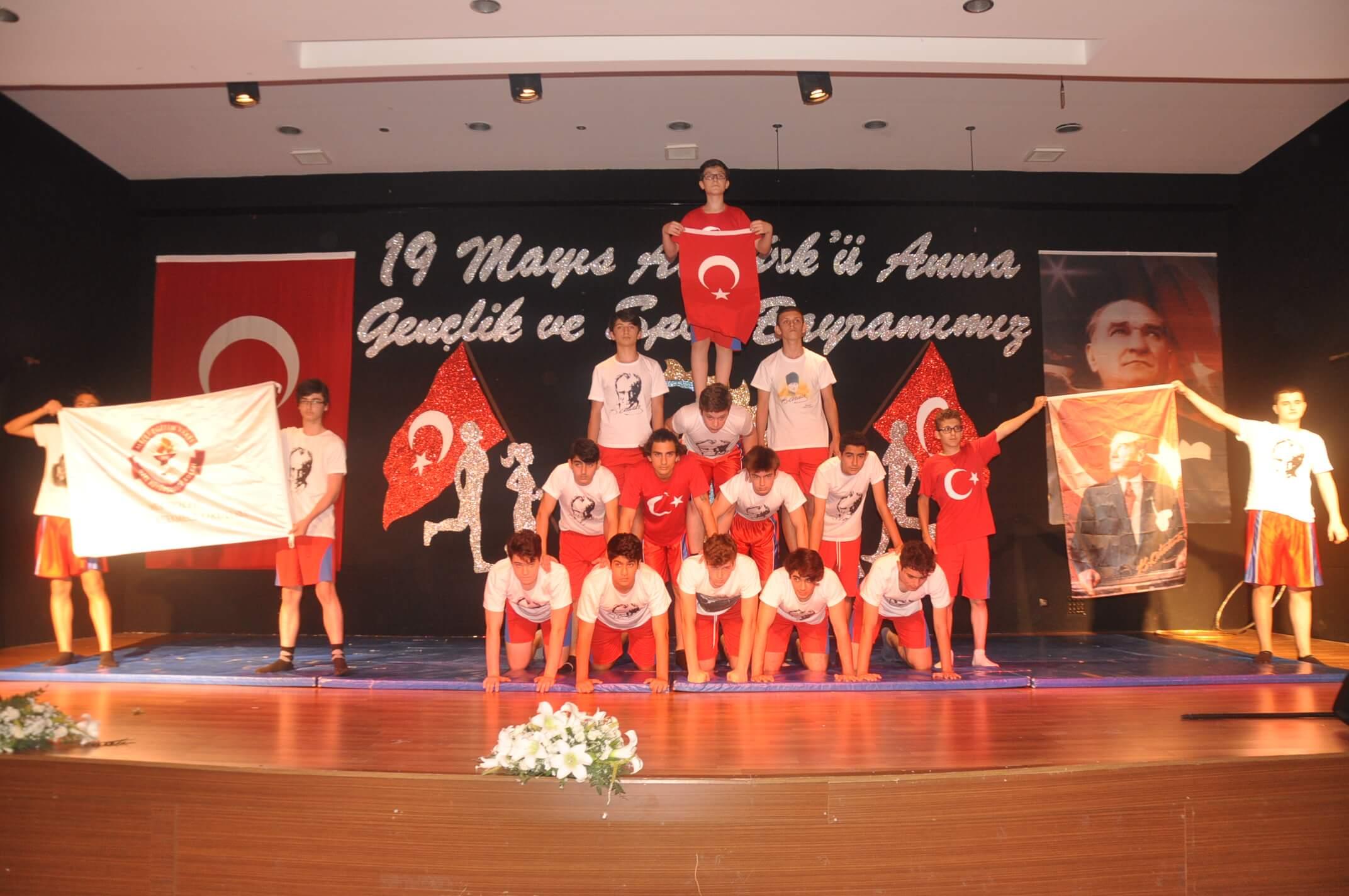 19 Mayıs Atatürk'ü Anma, Gençlik ve Spor Bayramını Coşku İle Kutladık!