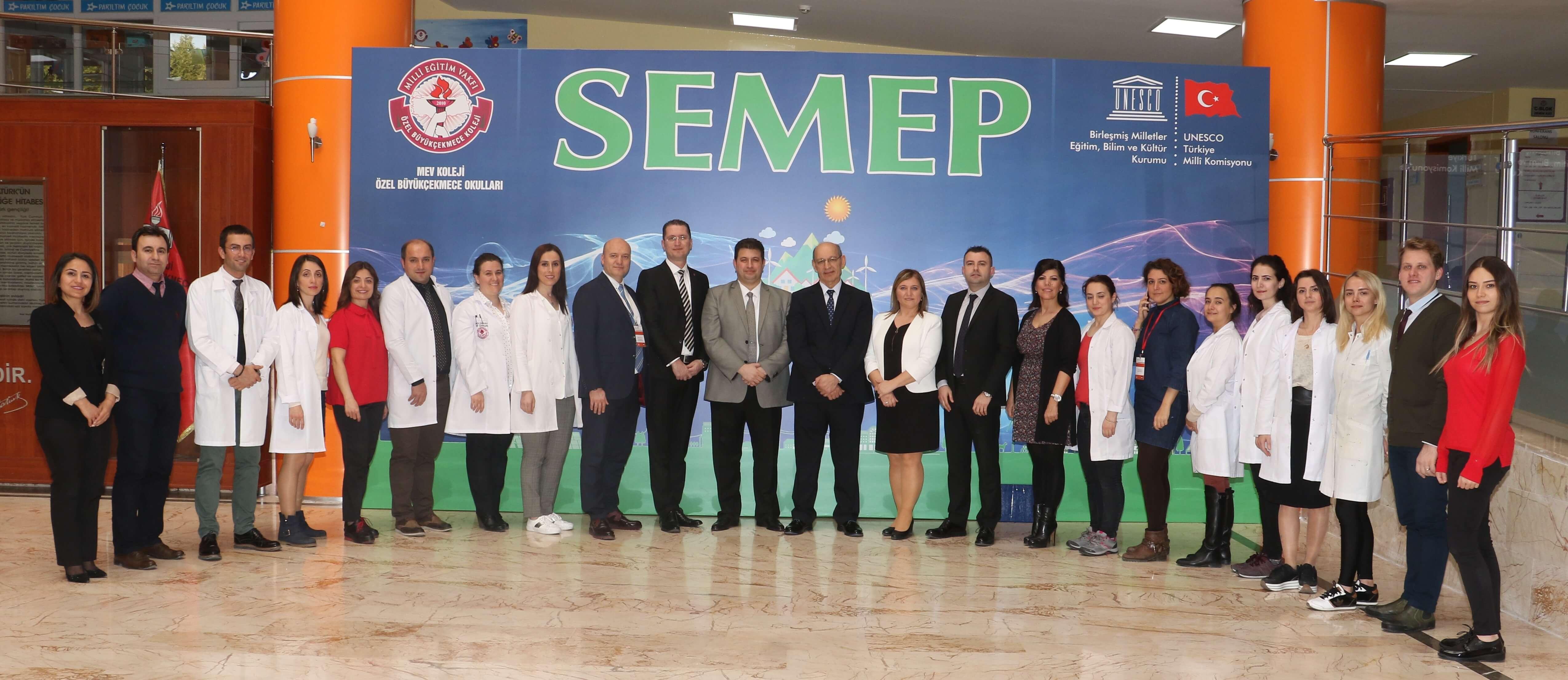 """""""UNESCO-SEMEP"""", 2018 – 2019 Döneminde de Marmara Bölgesi Koordinatör Okul Olarak Okulumuzda Gerçekleştirildi"""